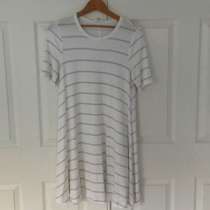 LOFT Lou & Grey Striped Signaturesoft Swing Dress